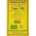 FARINE BLE T150 5KG MOULIN BIO