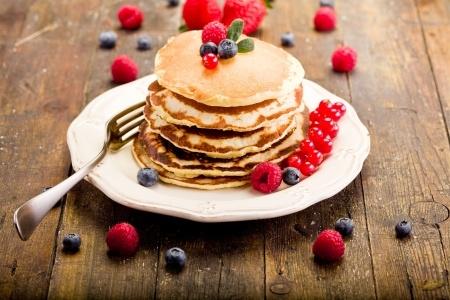 pancakes châtaigne basebio