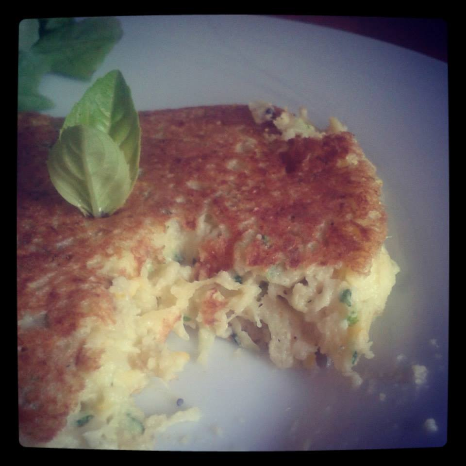Galettes courgettes Basebio