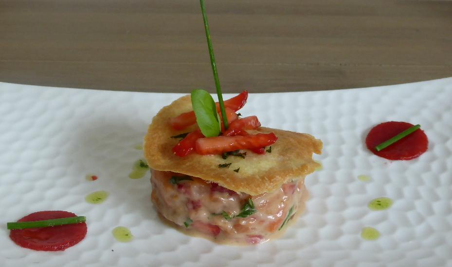 Tartare saumon Basebio