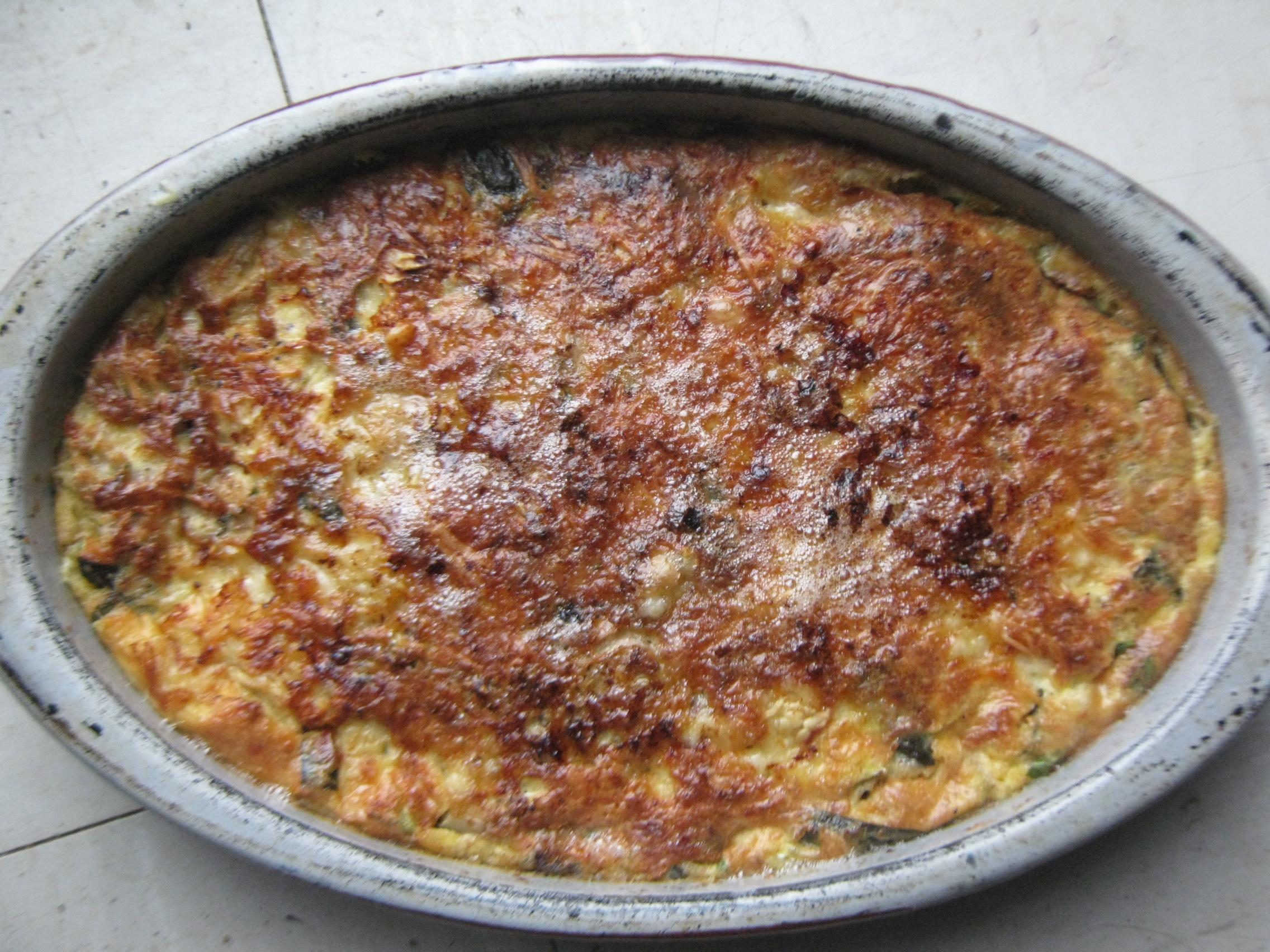 clafoutis trois fromages basebio