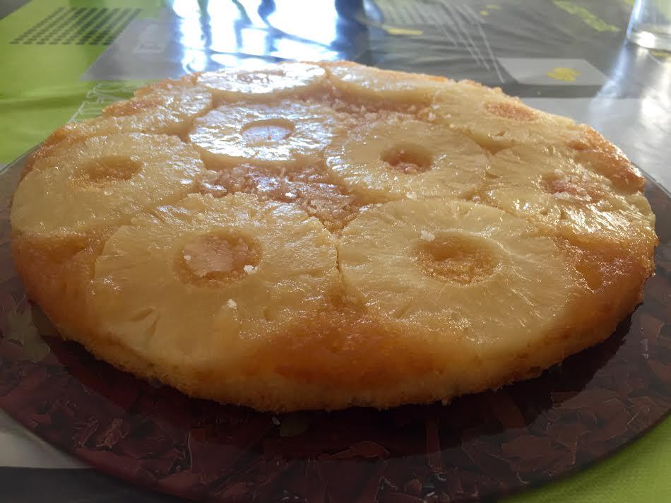 gateau ananas basebio