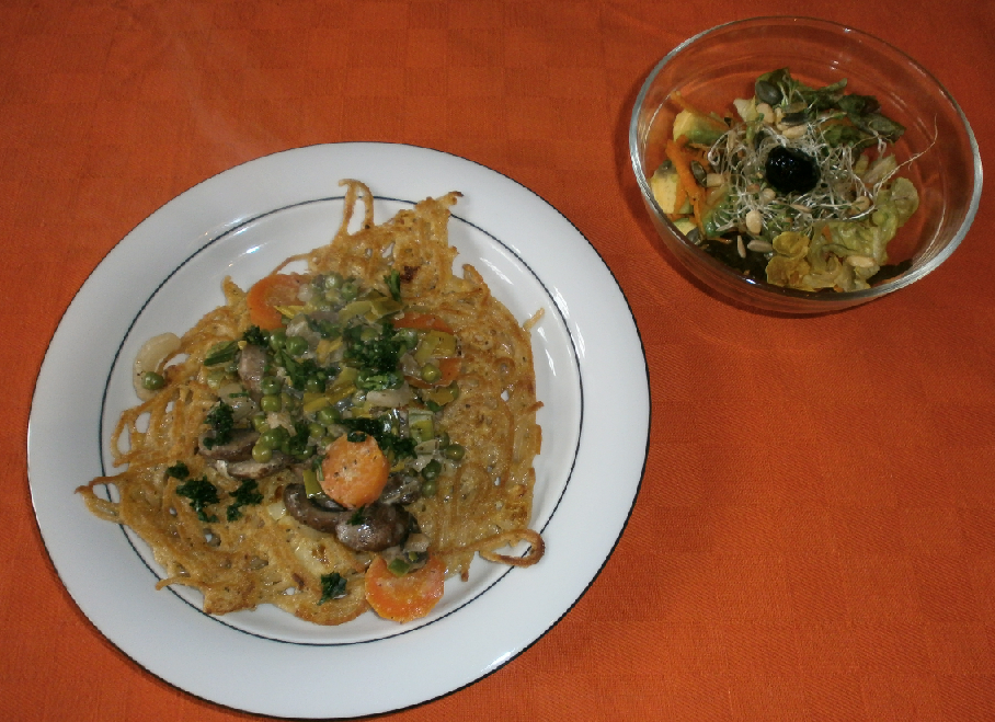 omelette spaghetti basebio