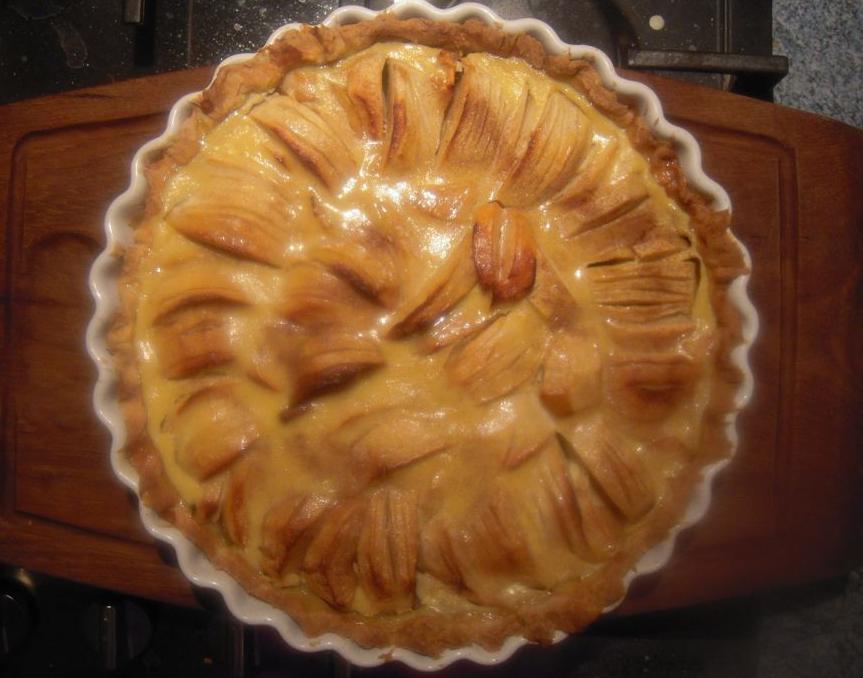 tarte aux pommes basebio